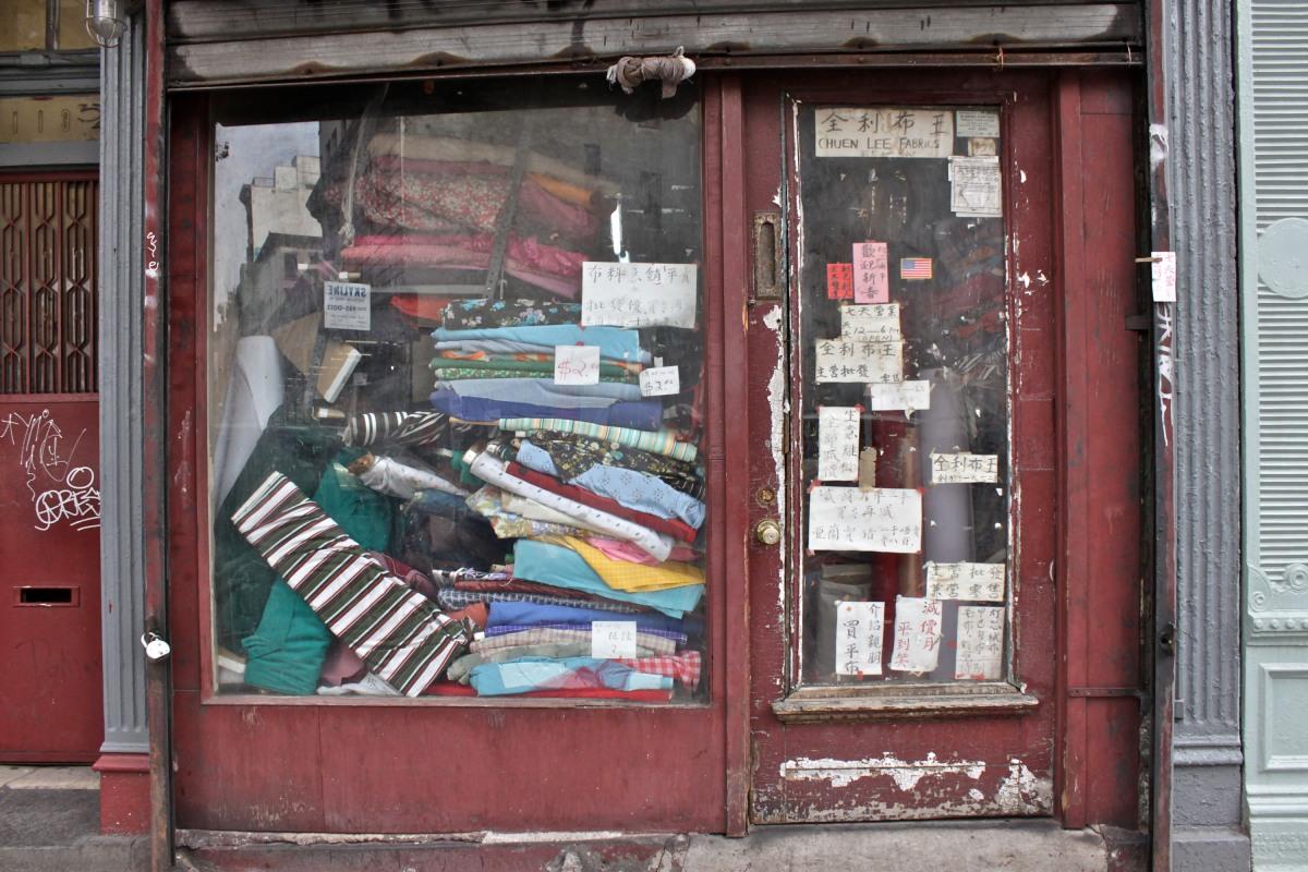 Fabric Store, Chinatown