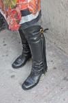 fringe detail boot