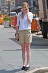 Prepster!  Pleated shorts, side braid, se cute!