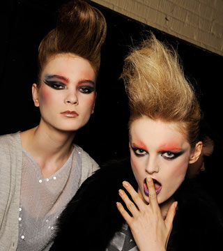 Marc Jacobs Autumn fashion makeup
