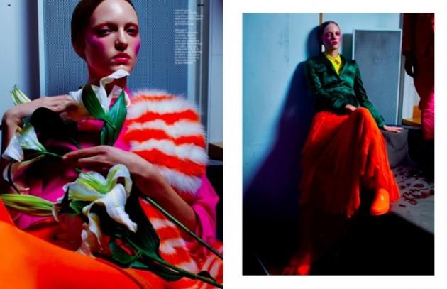 Pop color fashion