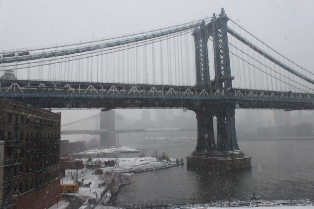 Manhattan Bridge View from Dumbo