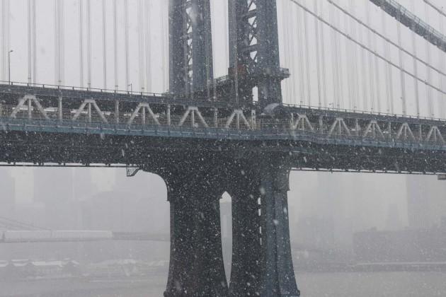 Manhattan Bridge View from Dumbo