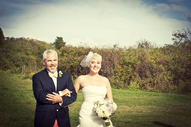 Carrie Morrissey and Adam Phillips Wedding photo by Christina Brown