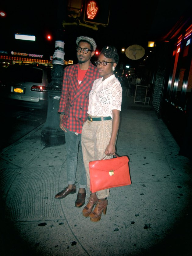Brooklyn Street Style: Dorky Preppy Chic I Love You Nonetheless